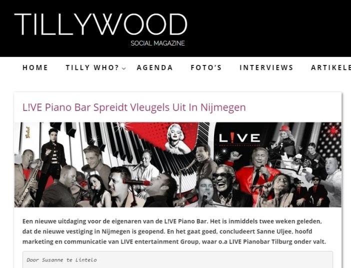 Tillywood - Live Nijmegen